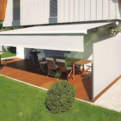 Seiten-Markisen mit optimaler Optik für Terrassenmarkisen