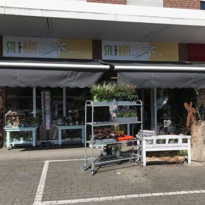 Geschäftshaus-Markisen