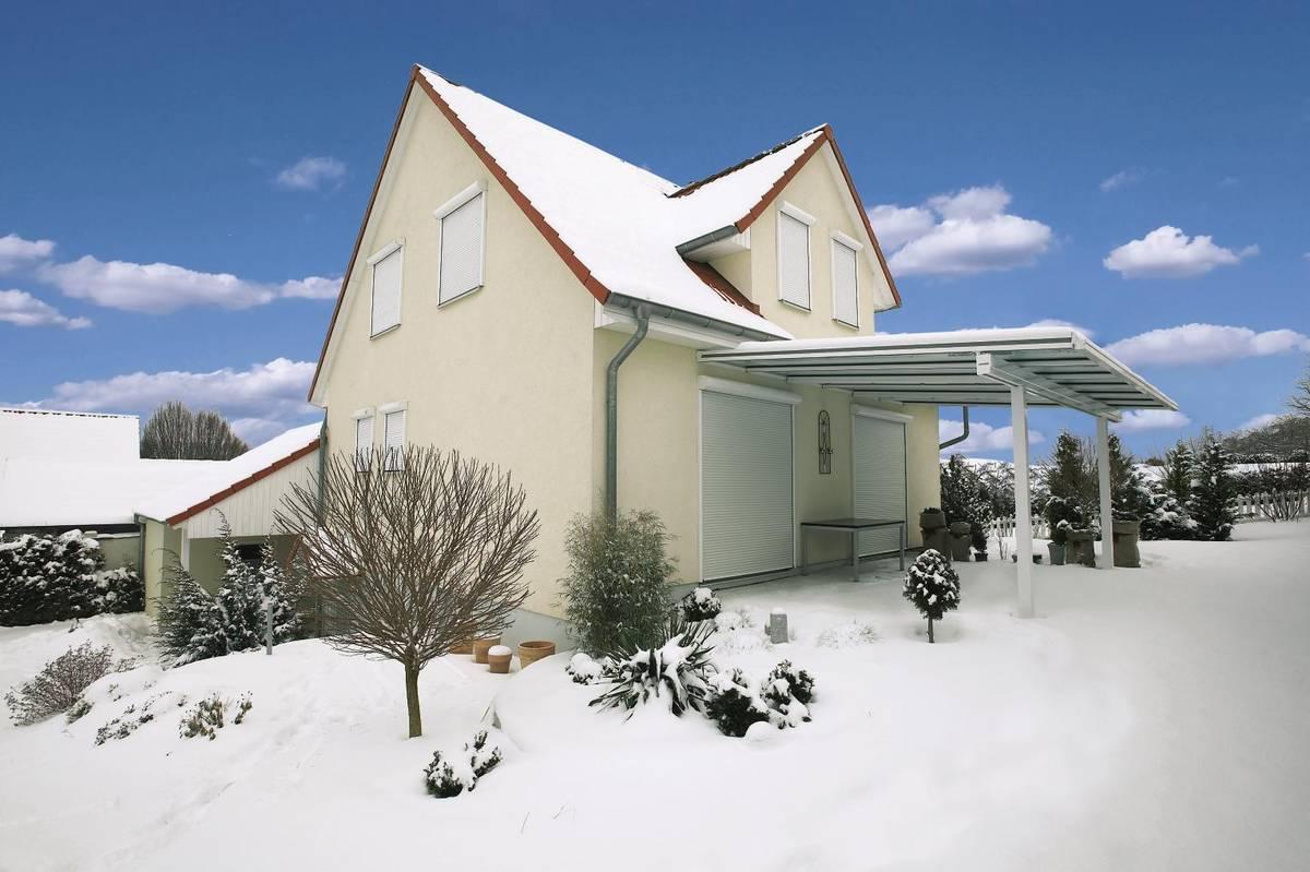 Rollladen Winterzeit