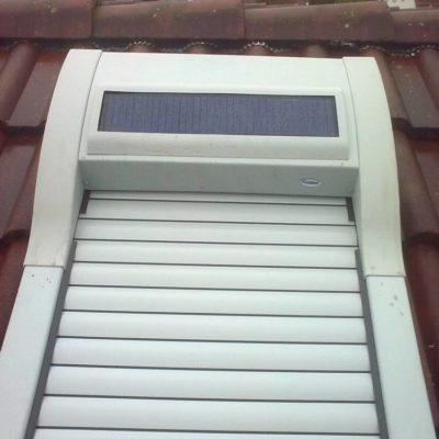 Werso Solar Dachflächenrollladen