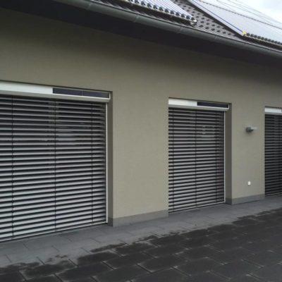 Vorbau-Solar-Raffstore