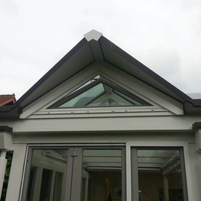 Rahmen mit Klemmhalter Dreieck